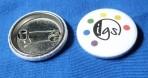 IGS-Button mit Sicherheitsnadel
